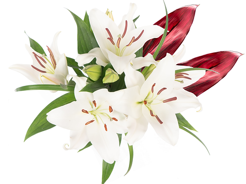 Patriotic Oriental Enhanced Bouquet
