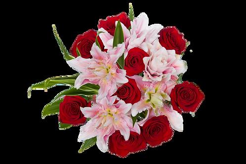 Valentine's Day- DL Majestic Romance Bouquet