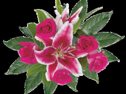 DL Fragrant Rose Petite Bouquet Mix
