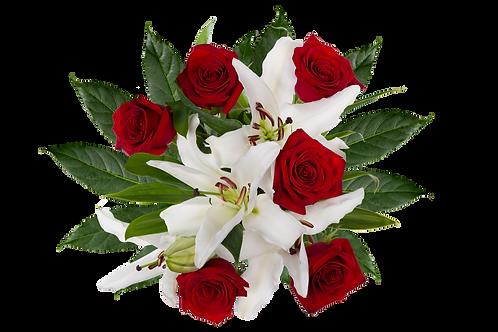 DL Fragrant Rose Bouquet Mix