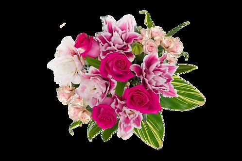 DL Rose Soirée Petite Bouquet Mix