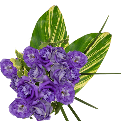 DL Lisianthus Chic Bouquet