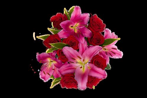 Spring- DL Scented Splendor Bouquet Mix