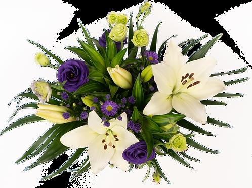 Palms & Lilies Bouquet