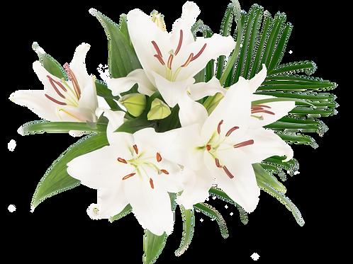Palm Sunday Oriental Enhanced Bouquet