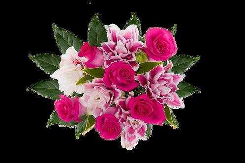 DL Fragrant Lily Rose Bouquet Mix