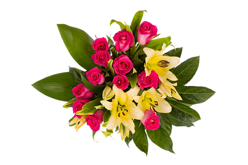 DL Fragrant Rose Premium Bouquet Mix