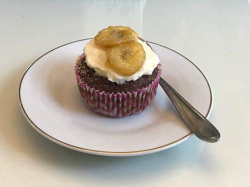Almond Flour Chocolate Banana Nut Muffin (Set of 12)