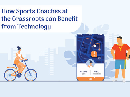 How sports coaches at the grassroots can benefit from technology