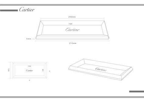 Cartier Cache tray