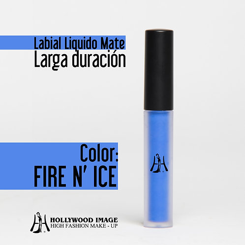 Labial Liquido-Larga duración FIRE N' ICE