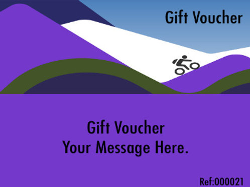 Gift Voucher - Guided Ride