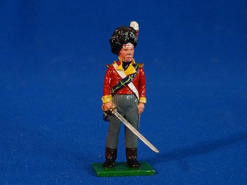 TY021 - Gordon Highlander Officer - Napoleonic - Trophy - 54mm Metal - No Box
