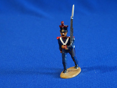 CORD-AL213 - Mexican Fusilero Marching - Alamo - Unknown Manufacturer - 54mm