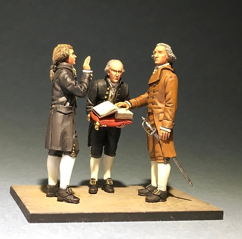 1789 - 1789 Washington's Inauguration by National Honor