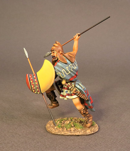 TH-10A - Thracian Peltast, 4th Century BC - Enemies of Ancient Greece