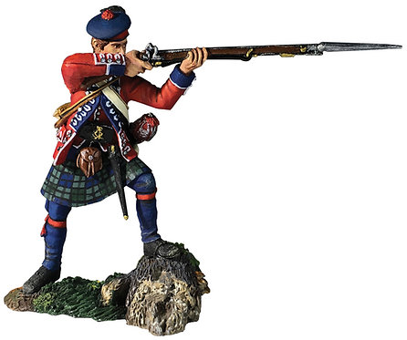 16055 - 42nd Royal Highland Regiment Battalion Coy Standing Firing No.2, 1760-63