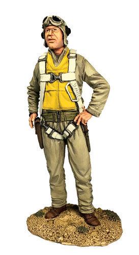 "13039 - U.S.M.C. Pilot Major Gregory ""Pappy"" Boyington, 1943"