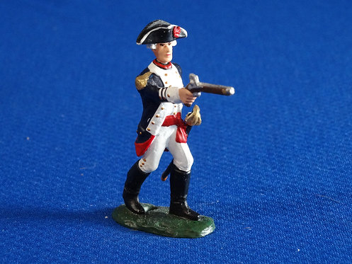 CORD-RA0349 - Prussian/Hessian Infantry Officer - AWI - LeMans - 54mm Metal