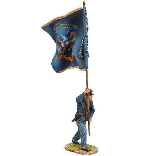 ACW104 - Union Sergeant Standard Bearer - 56th Penn Vols Regt Colors