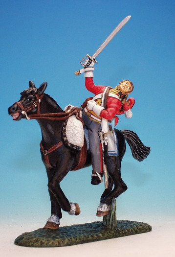 1FG.8. - Trooper Wounded Falling From Horse, 1st Life Guards