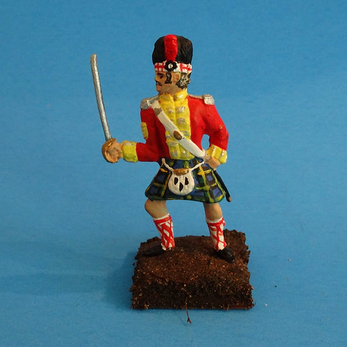 MI-535 - British Gordon Highlanders Sergeant - Napoleonics (1 fig) - Li'l Army