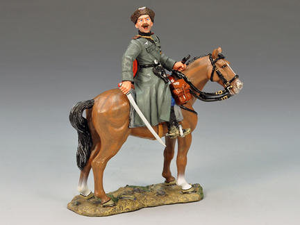 WS143 - Mounted Cossack Officer with Sword