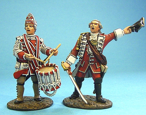 QB-05 - British Officer, and Drummer