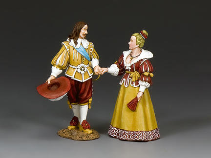 PnM077 - King Louis XIII & Queen Anne of France