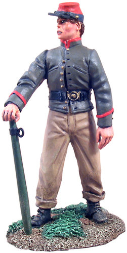 31085 - Confederate Infantry Crewman holding Trail Spike No.1