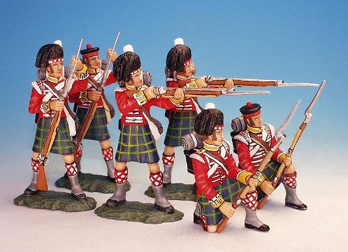 BNG.2 - 2 Loading, 2 Firing, 2 Kneeling to Repel, Gordon Highlanders