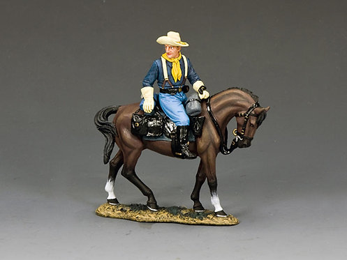 TRW169 - Trooper Turning in the Saddle