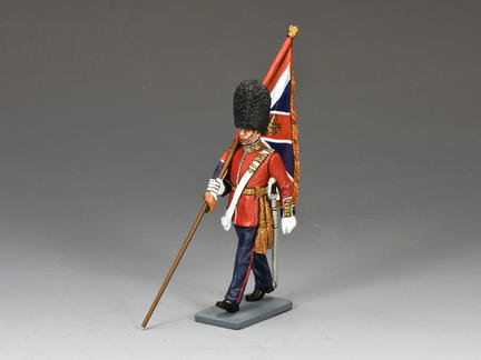 CE005 - Marching Officer with King's Colour