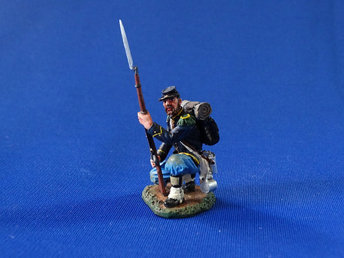 CORD-0478 - Union Infantry Kneeling (Set CW030) - ACW - King and Country - 60mm