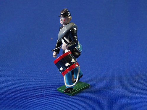 CORD-0439-Union Infantry Drummer - Tradition - ACW - 54mm Metal No Box