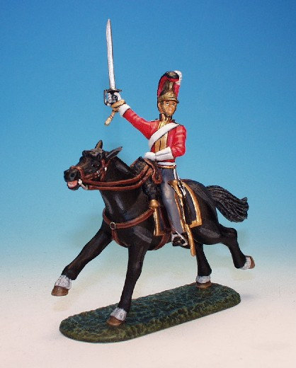 1FG.6. - Officer Leading Troops, 1st Life Guards