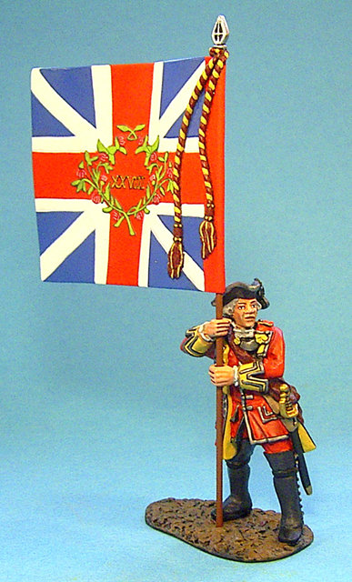 QB-28 - Officer with King's Colours