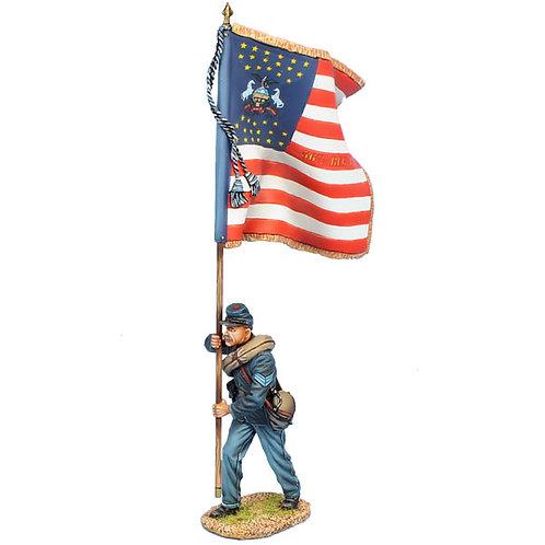 ACW103 - Union Sergeant Standard Bearer - 56th Pennsylvania Vols