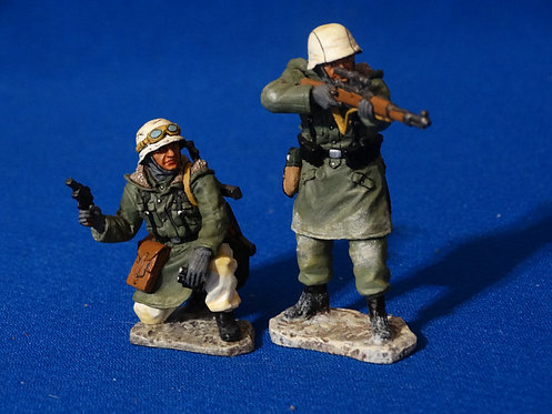 MI-975 - Prepare to Fire (WS086) - WWII - King and Country - 60mm Metal - No Box