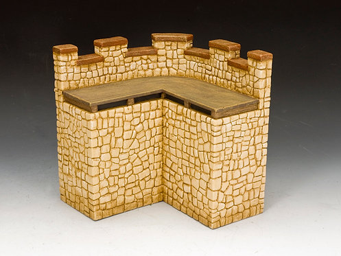 RF004(S) - Roman Fort Corner Wall Section (Sandstone)