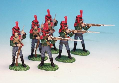 NLG.1 - 3 Standing Firing, 3 Loading, 2nd Regiment, Grenadier Company