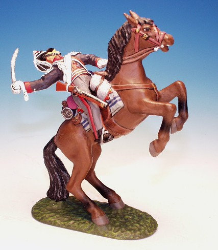 23LD.9. - Trooper Falling From Rearing Horse, 23rd Light Dragoons