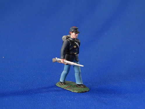 CORD-0377 - Union Infantry - Soldiers of the World - ACW - 54mm Metal No Box