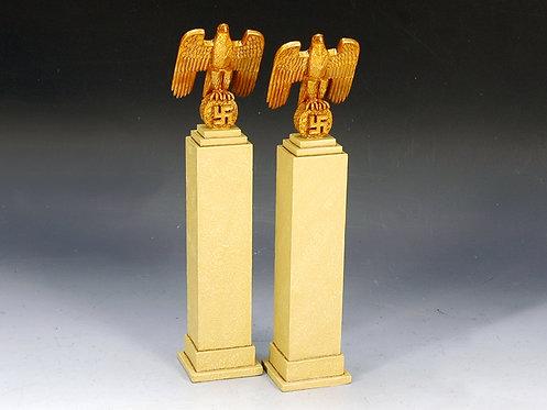 LAH103 - Nazi Eagles on Plinth