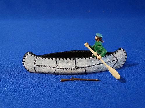 LM-300R - Rogers Ranger Paddling Canoe with Separate Musket - FIW - LeMans