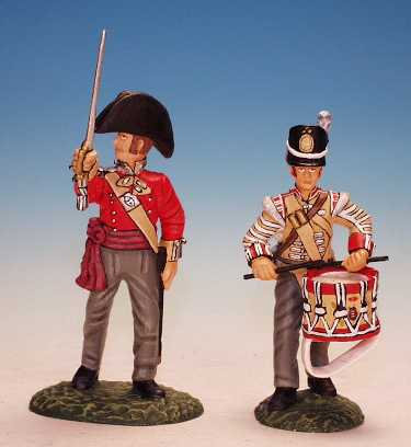 BRF.7. - Officer and Drummer, The Buffs