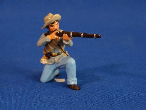 TY008 - Confederate Kneeling Firing - ACW - Trophy - 54mm Metal - No Box