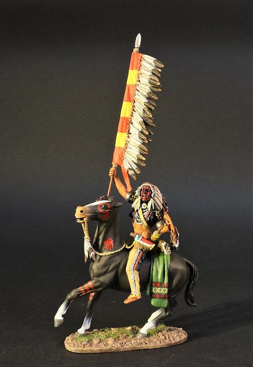 WSP-07 - Crow Warrior with War Flag