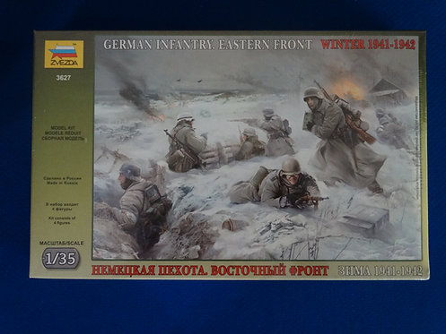 COJG-229 - German Infantry Eastern Front - WWII - Zveda 1/35 - Plastic Kit
