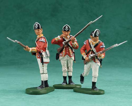 17446 - Battle of Monmouth British 10th Foot Infantry Set
